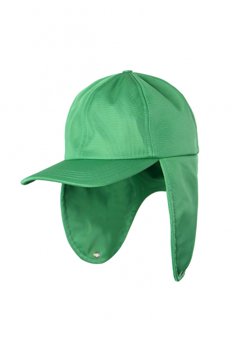 DAVID CATALÁN Green Trapper Cap  0