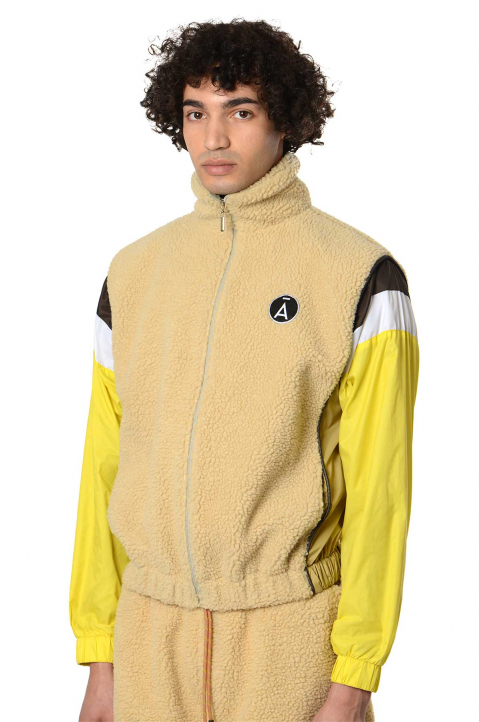 DAVID CATALÁN Polar Fleece Track Jacket  0