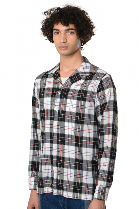 DAVID CATALÁN Checkered Shirt  0