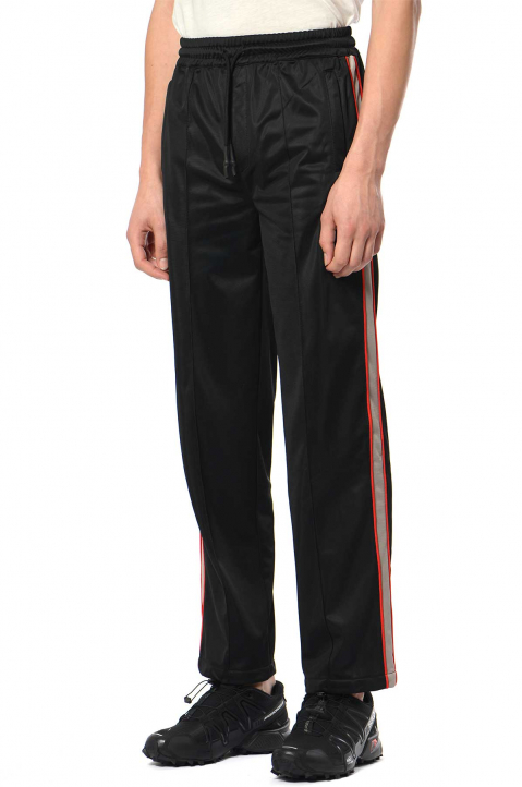DAVID CATALÁN Black/Red Track Trousers 0