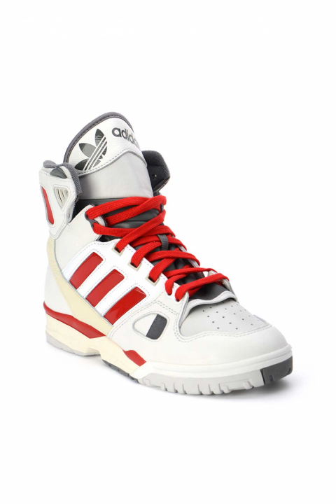 ADIDAS X KID CUDI Torsion Artillery Hi Red/White Sneakers 1