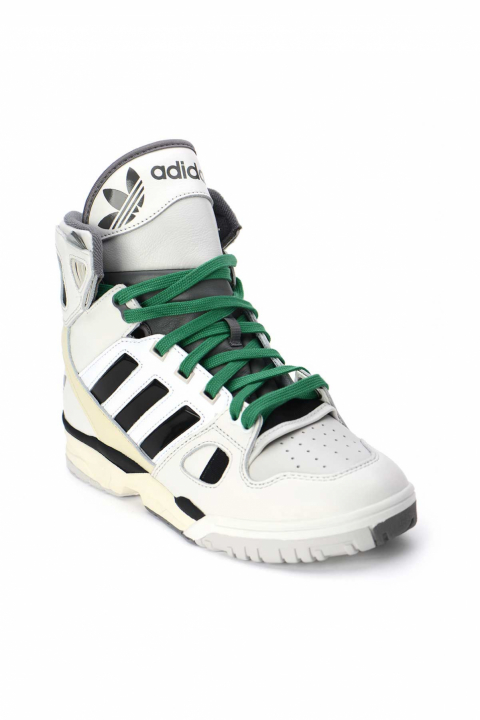 ADIDAS X KID CUDI Torsion Artillery Hi Green/White Sneakers 1