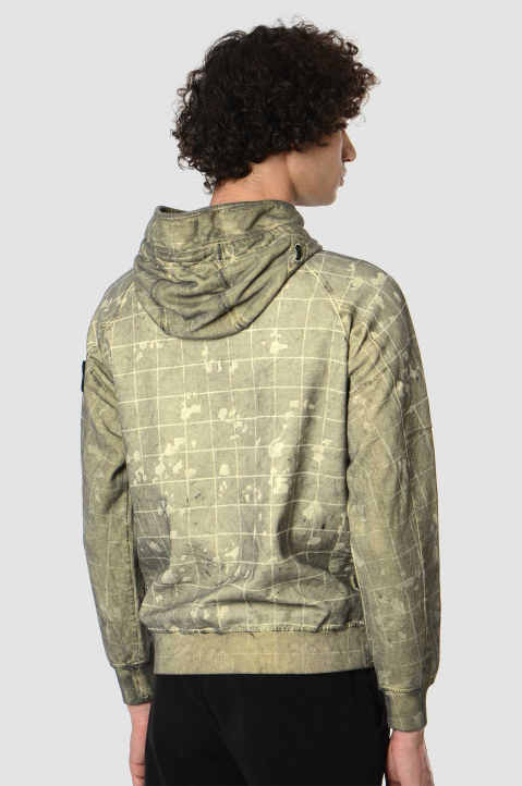 STONE ISLAND Dust Color With Ghillie Laser Camo Sweatshirt 1