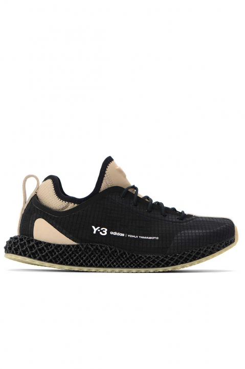 Y-3 4D Runner IO Black 0