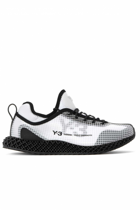Y-3 4D Runner IO White 0