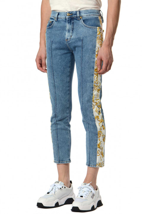 VERSACE JEANS COUTURE Slim Cropped Jeans 0