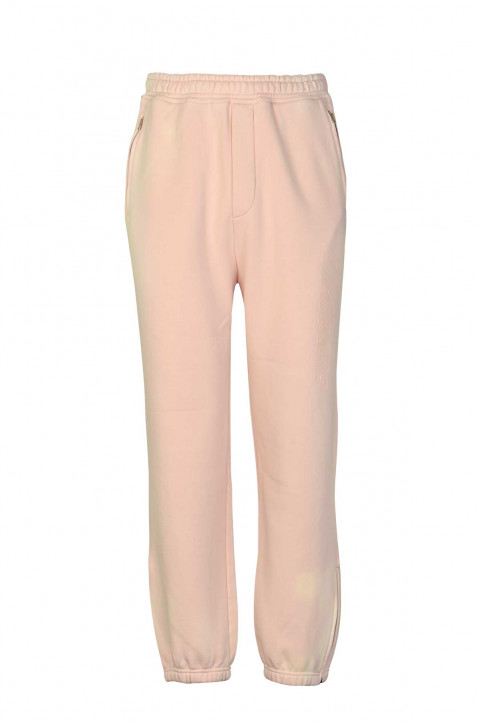 WE11DONE Iridescent Logo Light Pink Joggers 0