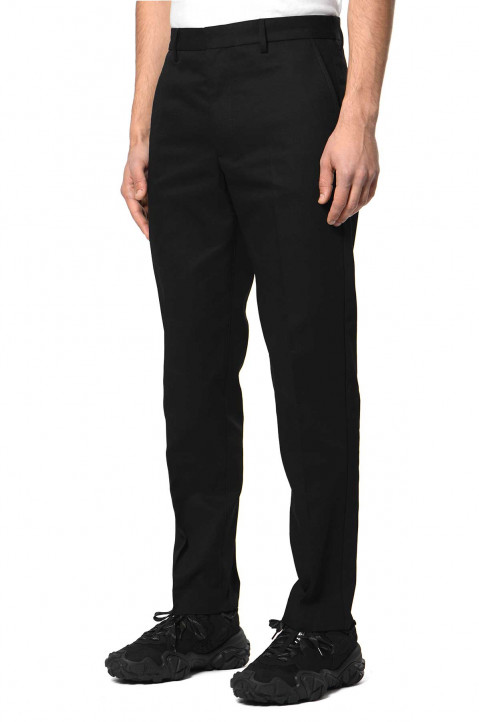 ACNE STUDIOS Tapered Black Trousers  0
