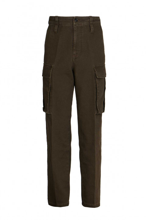 ACNE STUDIOS Green Cargo Trousers  0