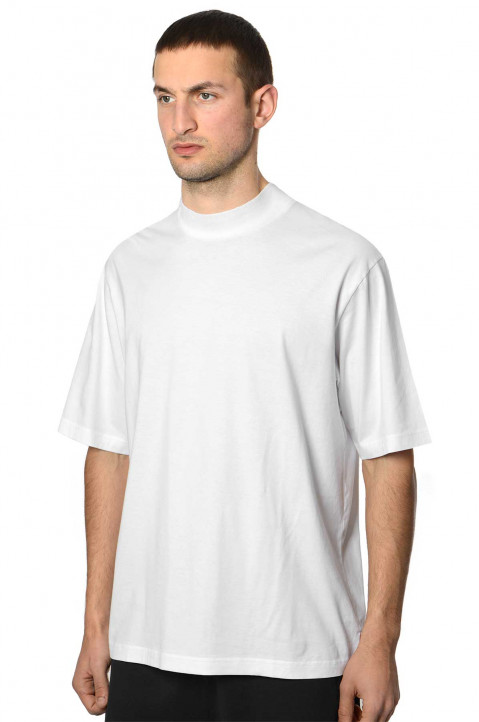 ACNE STUDIOS Mock White Tee 0