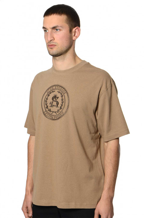 ACNE STUDIOS Light Brown Tee 0