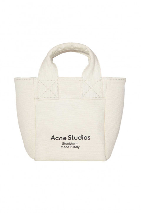 ACNE STUDIOS Small Canvas Shopper Bag 0