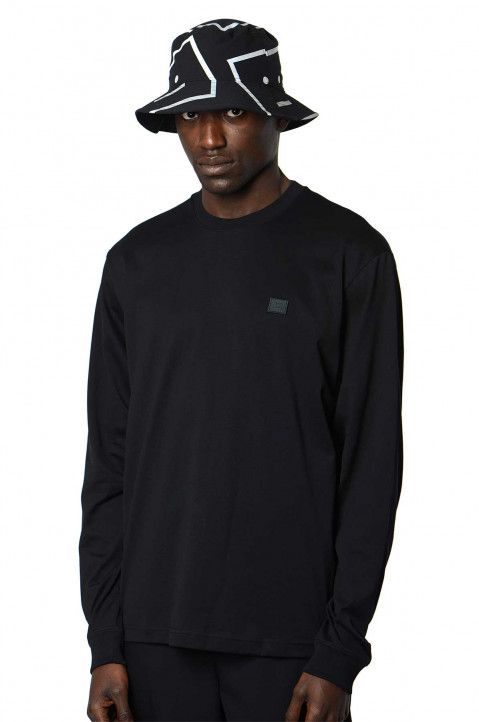 ACNE STUDIOS Face Black LS Tee 0