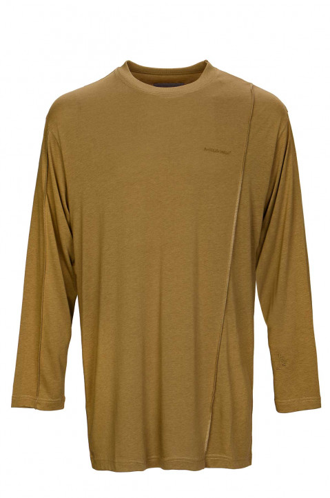A-COLD-WALL* Reversed Seam Olive LS Tee  0