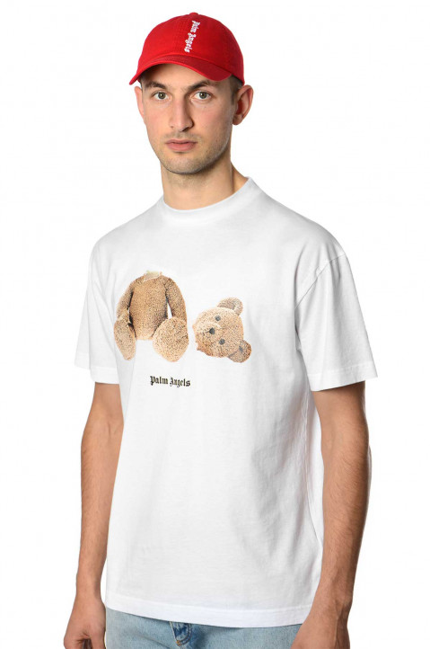PALM ANGELS Kill The Bear White Tee 0