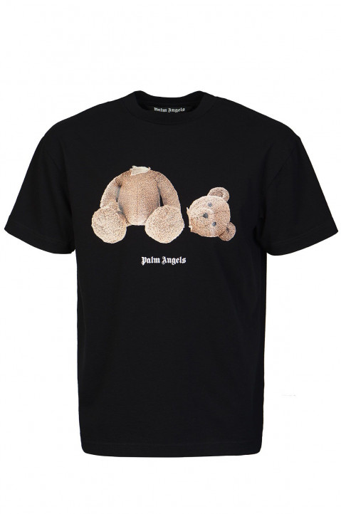 PALM ANGELS Kill The Bear Black Tee 0