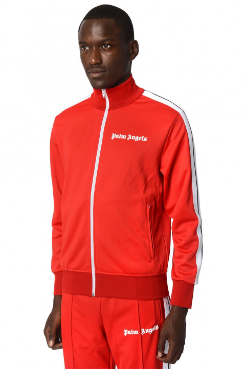 PALM ANGELS Red Tracksuit Jacket 0