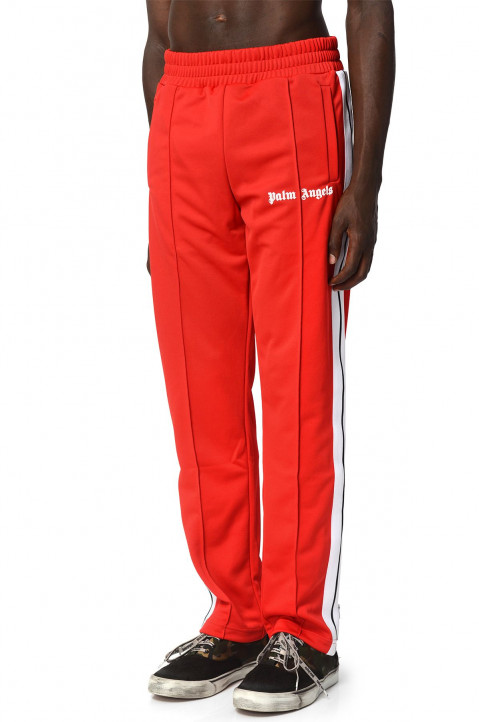 PALM ANGELS Red Trackpants  0