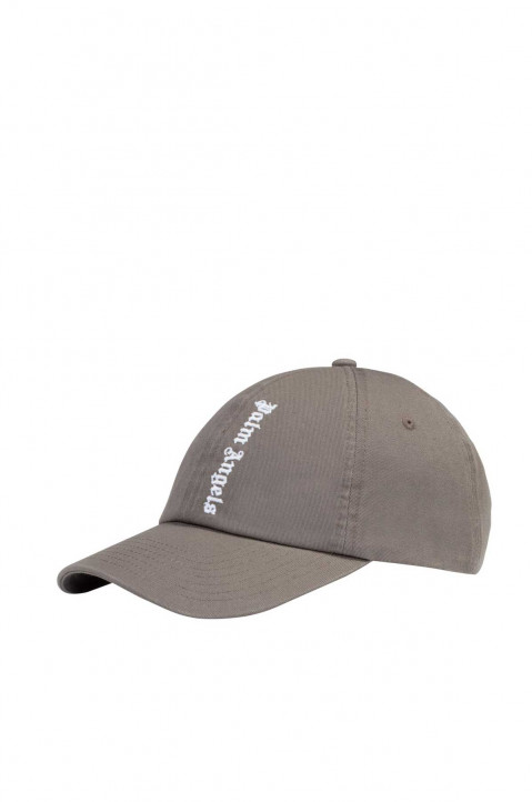 PALM ANGELS NS Logo Grey Cap 0