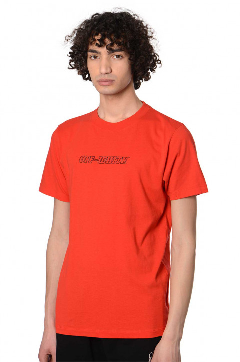 OFF-WHITE Pascal Slim Red Tee 0