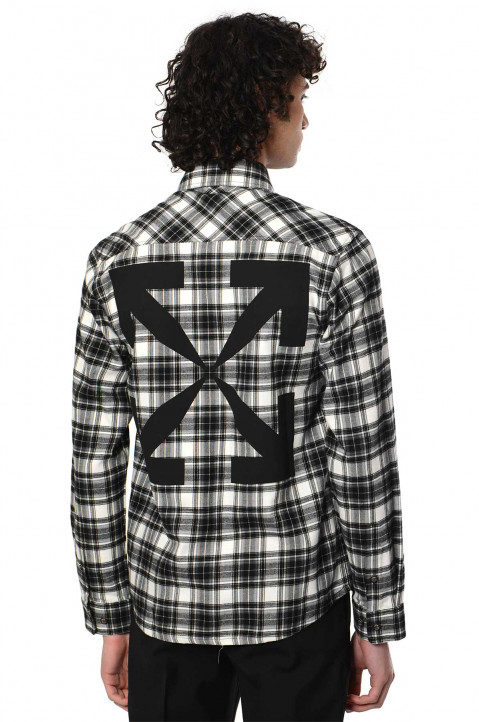 OFF-WHITE Check Flannel Shirt 0