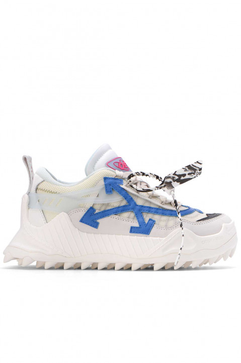 OFF-WHITE White Blue Odsy-1000 Sneakers 0