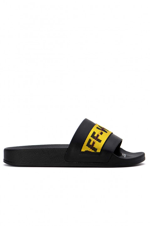 OFF-WHITE Industrial Belt Black Slider 0