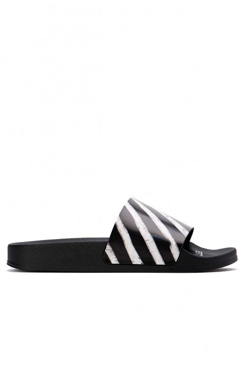OFF-WHITE Spray Stripes Black Slider 0