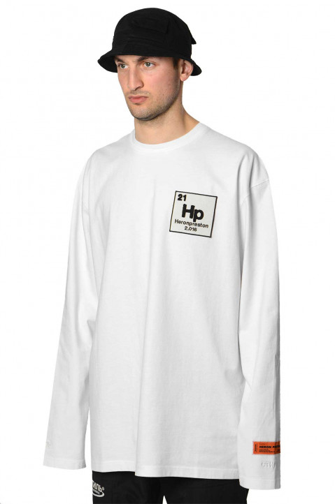 HERON PRESTON Halo Herons White LS Tee 0