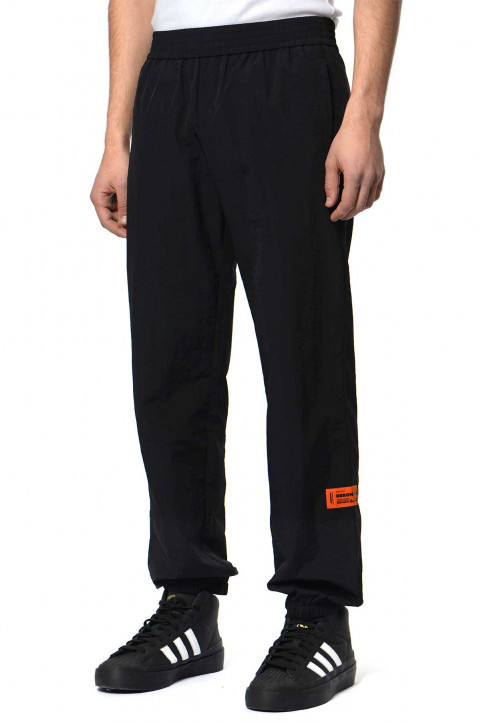 HERON PRESTON CTNMB Black Nylon Trackpants  0
