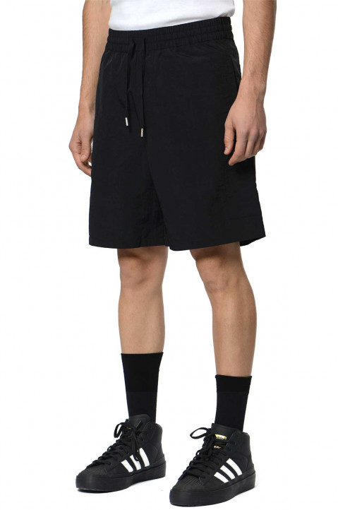 HERON PRESTON CTNMB Black Nylon Shorts 0