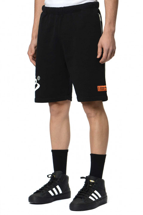 HERON PRESTON CTNMB Black Shorts  0