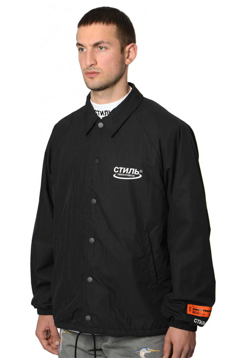 HERON PRESTON CTNMB Black Coach Jacket  0
