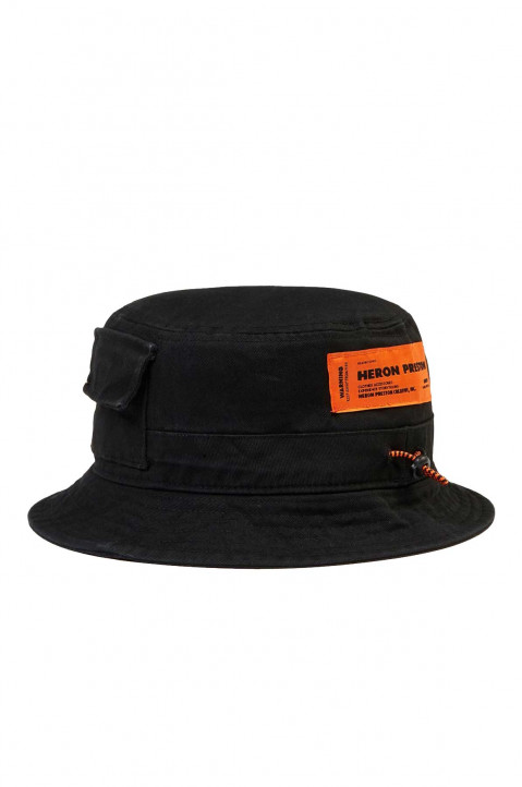 HERON PRESTON Twill Bucket Hat 0
