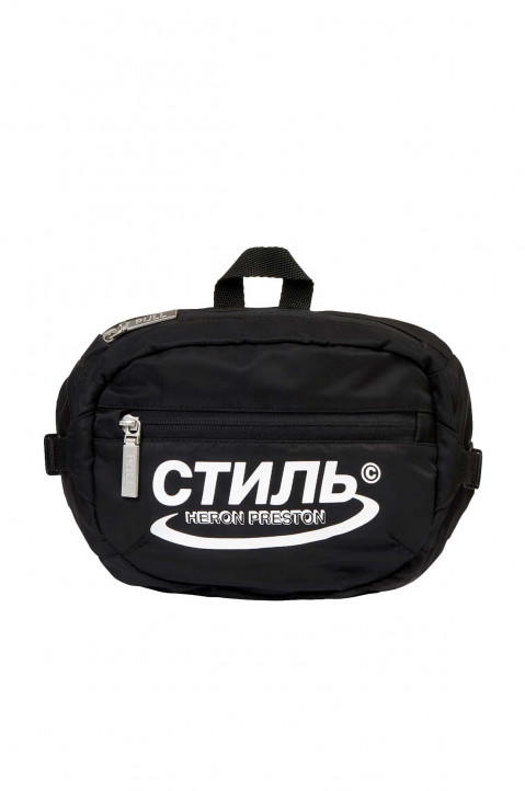 HERON PRESTON Black CTNMB Waist Bag 0
