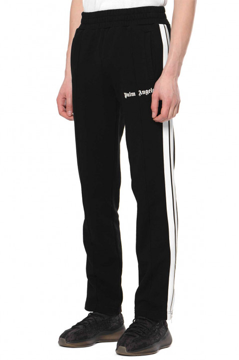 PALM ANGELS Black Fleece Track Trousers 0