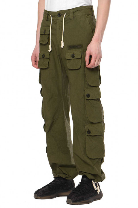 PALM ANGELS Full Pockets Cargo Trousers 0