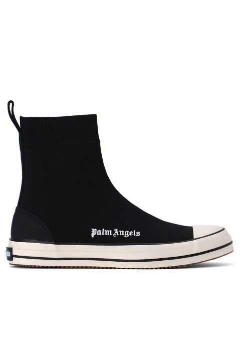 PALM ANGEL Knitted Sock Vulcanized Black Sneakers 0