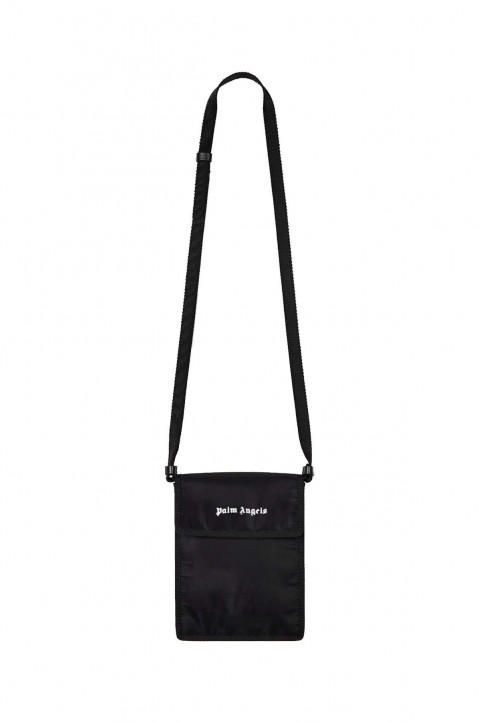 PALM ANGELS Black Pocket Bag  0