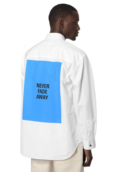 JIL SANDER Never Fade Oversized White Shirt 0