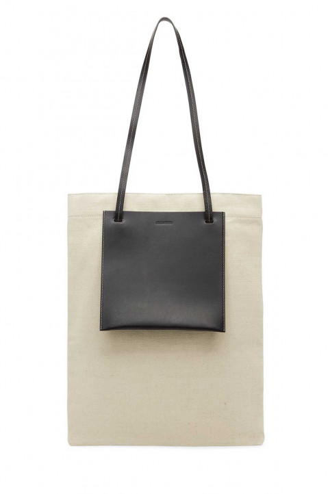 JIL SANDER Flat Shopper Bag  0