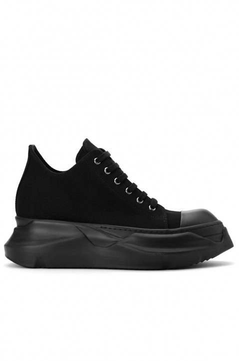 DRKSHDW Abstract Low Top Black Sneakers 0