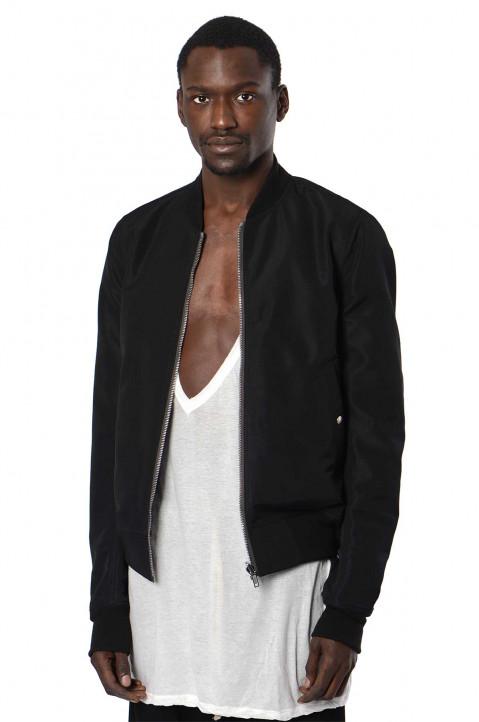 RICK OWENS Phlegethon Reversible Bomber Jacket 0