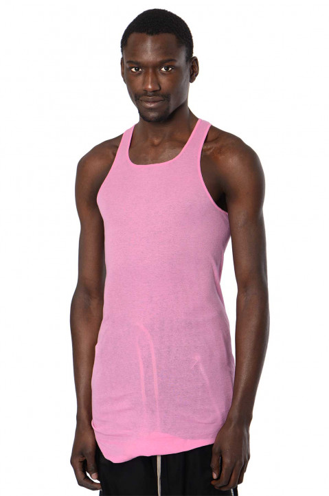 RICK OWENS Pop Pink Tank Top 0