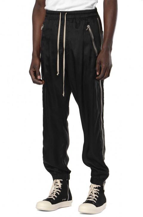 RICK OWENS Phlegethon Zip Track Trousers  0
