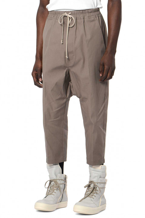 RICK OWENS Dust Cropped Trousers 0
