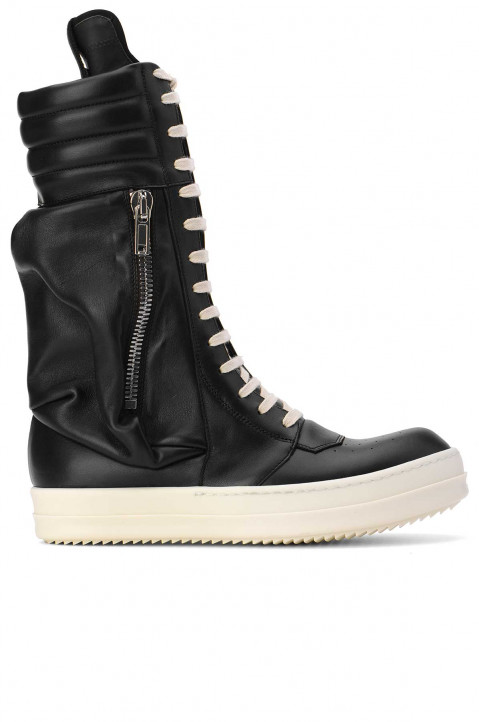 RICK OWENS Cargo Basket Boots  0