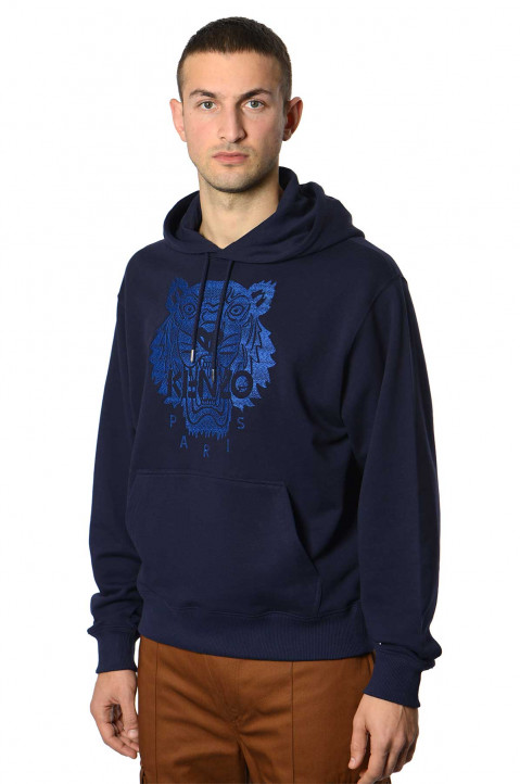 KENZO Light Tiger Classic Navy Hoodie  0