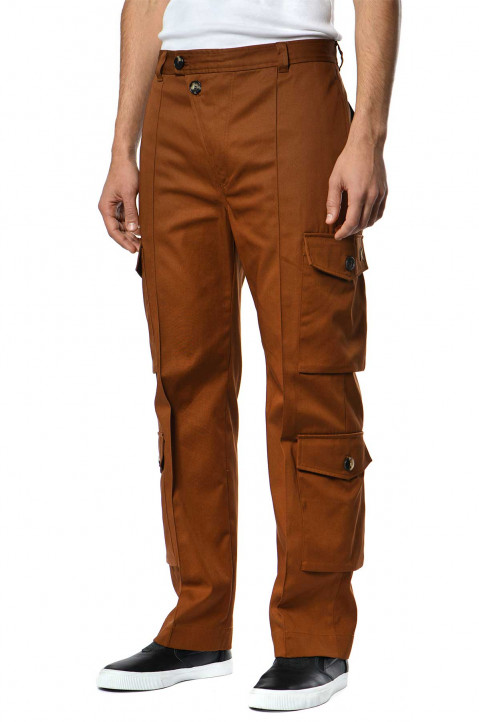 KENZO Brown Cargo Trousers 0