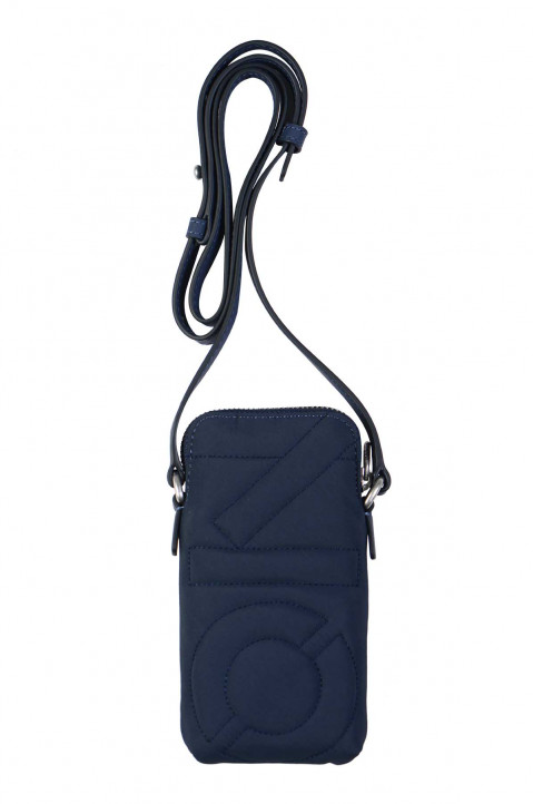 KENZO Logo Navy Phone Holder Bag 0